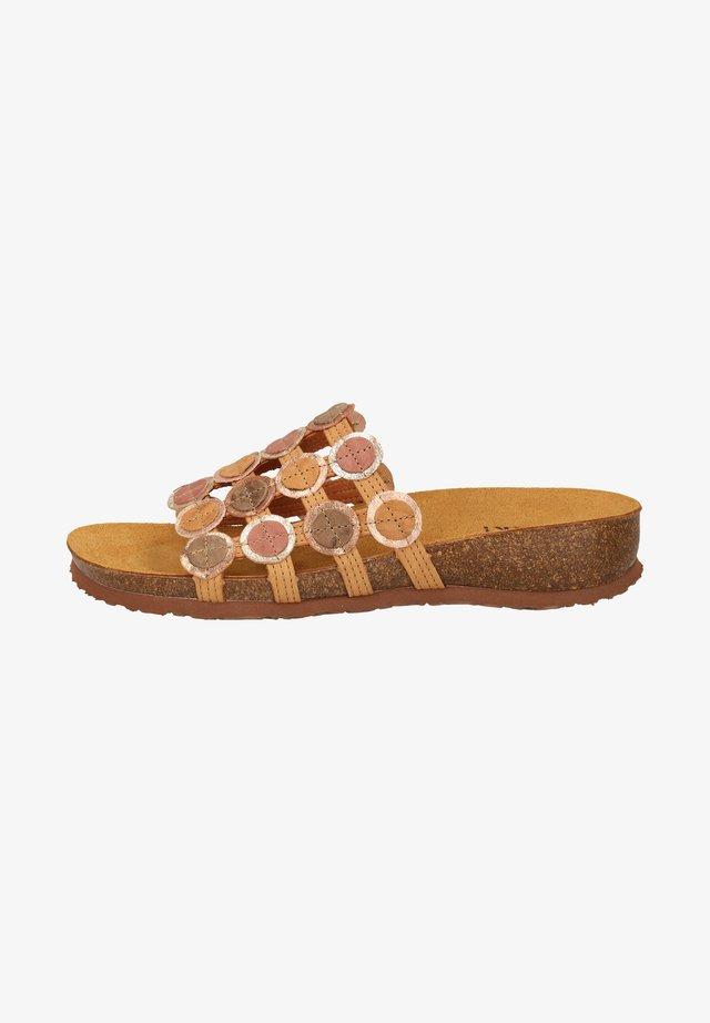 Pantoffels - tan