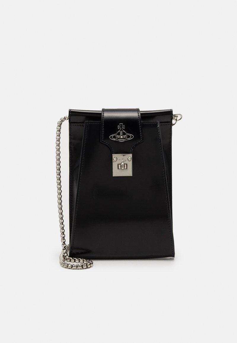 Vivienne Westwood - DOLCE PHONE CROSSBODY - Phone case - black