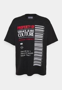Versace Jeans Couture - INTERLOCK - T-shirt imprimé - nero - 4