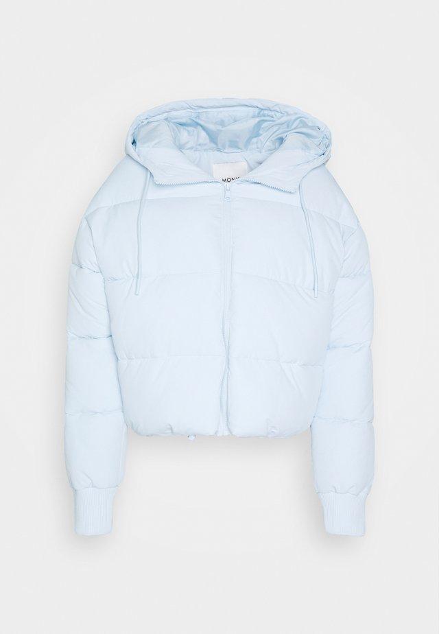 AMBER SHORT - Winter jacket - blue light
