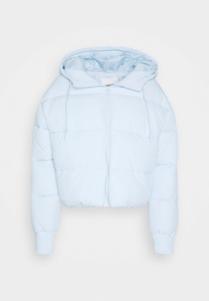 Monki - AMBER SHORT - Winter jacket - blue light