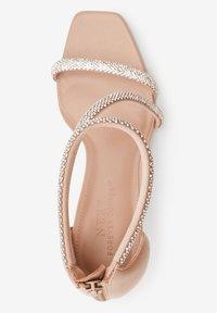 Next - Sandály na vysokém podpatku - nude - 2