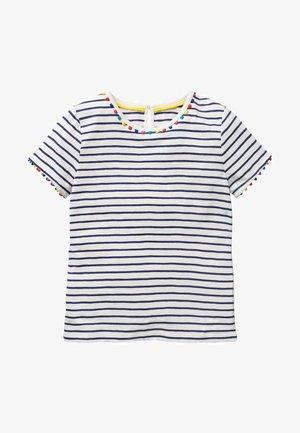 MINI-ME CHARLIE  - Print T-shirt - indigoblau/naturweiß