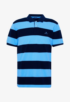 BARSTRIPE RUGGER - Polo shirt - toy blue