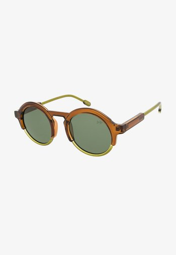 Sunglasses - brown/olive green
