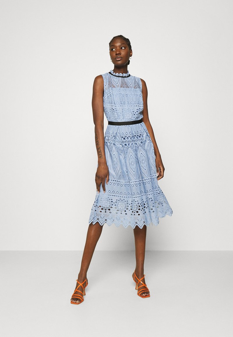 Swing - Cocktail dress / Party dress - blue dust