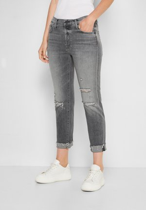 THE SCRAPPER CUFF ANKLE FRAY - Straight leg jeans - unstitched in the da