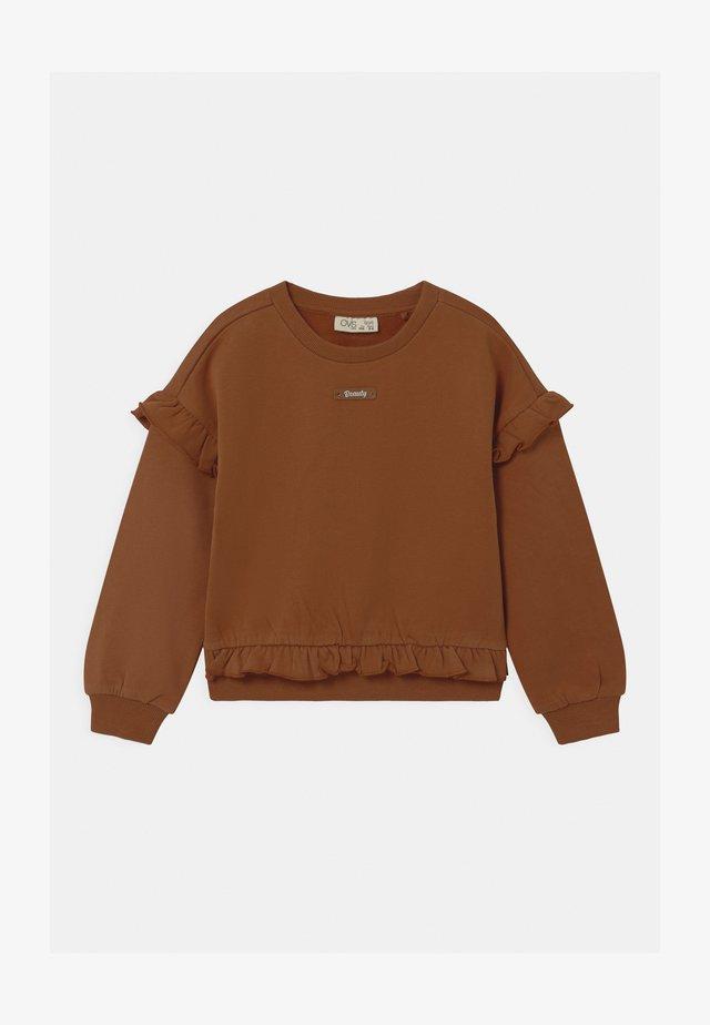 DROPPED  - Sweater - bran