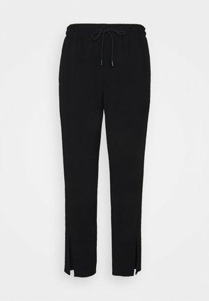 SLIT PULL ON ADMIR - Trousers - black