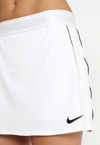 Nike Performance - DRY SKIRT - Sports skirt - white/black - 3