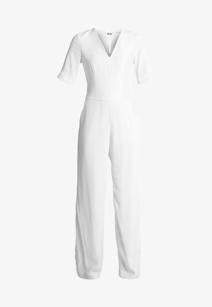 V NECK - Jumpsuit - white