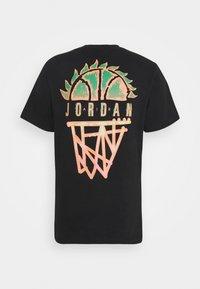 Jordan - DNA CREW - T-shirt med print - black - 8
