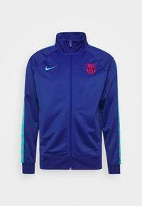 FC BARCELONA TAPE - Verryttelytakki - deep royal blue/oracle aqua