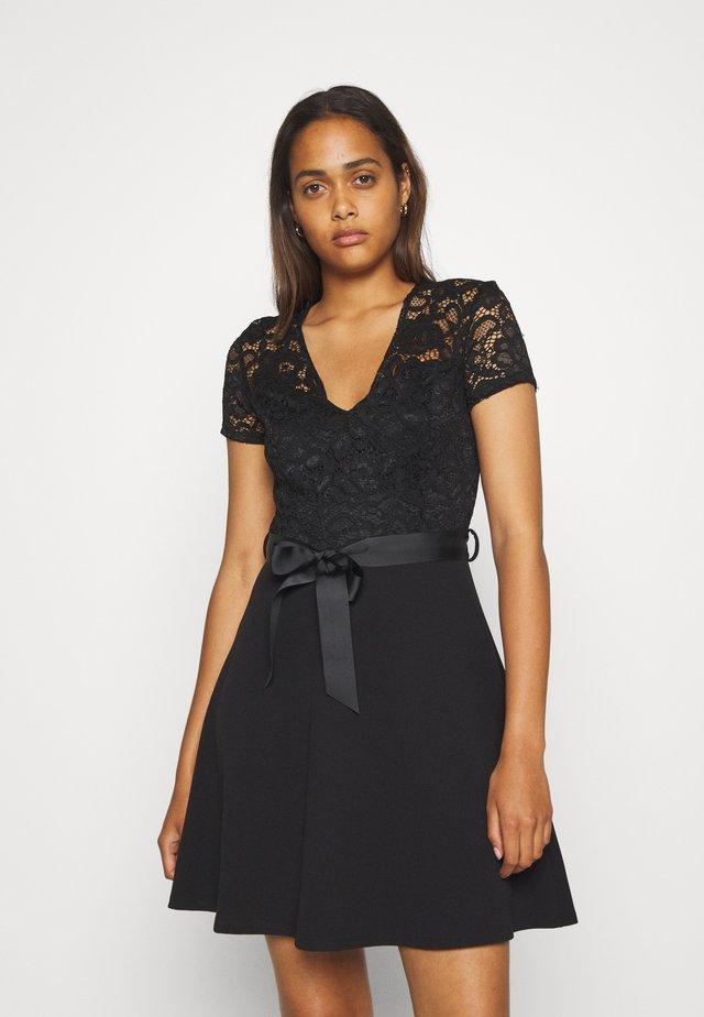 ROMALO - Koktejlové šaty/ šaty na párty - noir