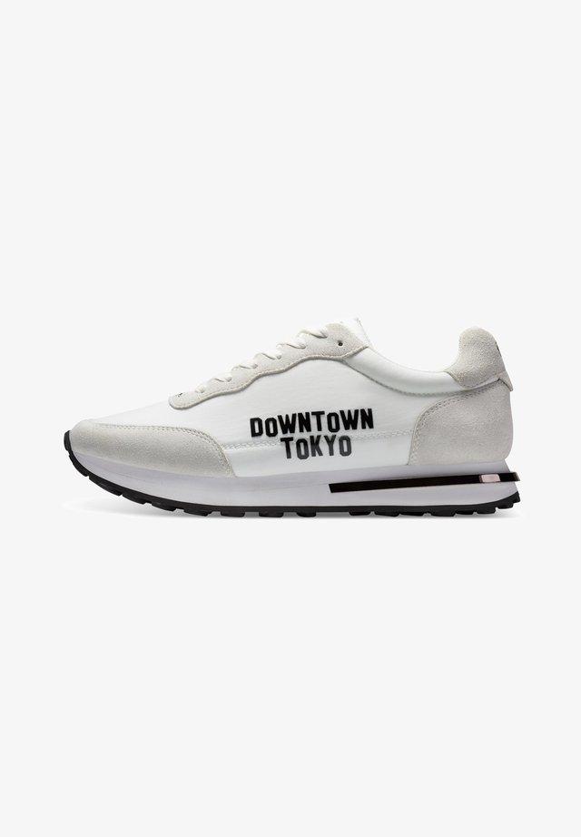 SLIVER RUNNER-TOKYO - Sneakers laag - white