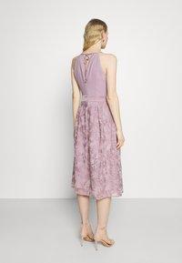 Esprit Collection - DRESS - Cocktail dress / Party dress - mauve - 2