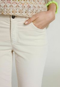 Oui - Trousers - whitecap gray - 3