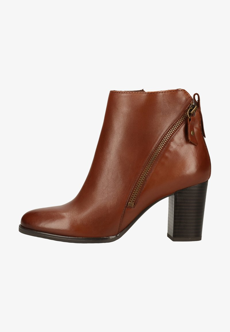 Caprice - Classic ankle boots - cognac nappa 303
