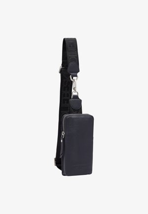 SLING UMHÄNGETASCHE LEDER  - Across body bag - midnight sky