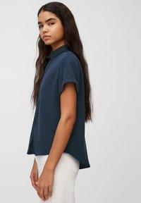 Marc O'Polo DENIM - Button-down blouse - dress blue - 4