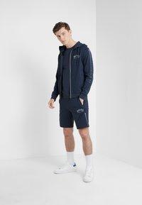 BOSS - SAGGY WIN - Zip-up hoodie - blue/silver - 1