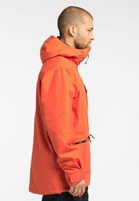 Haglöfs - LUMI INSULATED JACKET - Ski jacket - habanero - 2
