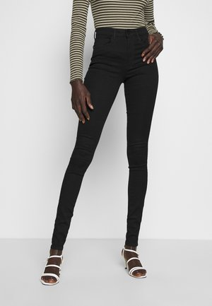 ONLROYAL HIGH SKINNY - Skinny džíny - black