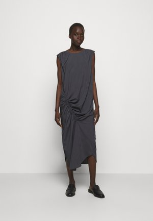 VALERIE SHOULDER DRESS - Day dress - charcoal