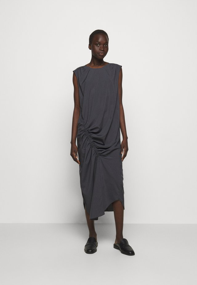 VALERIE SHOULDER DRESS - Vestito estivo - charcoal