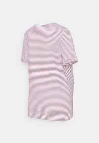 Pieces Maternity - PCMRIA FOLD UP - Print T-shirt - bright white/apple butter - 1