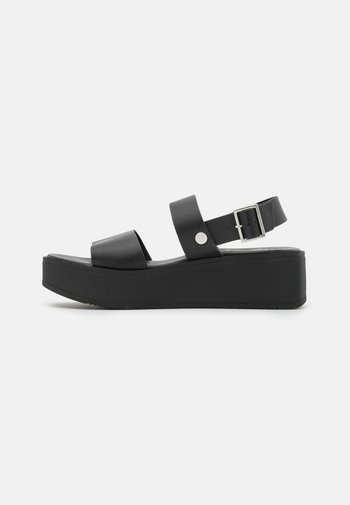DEBALMY - Platform sandals - noir