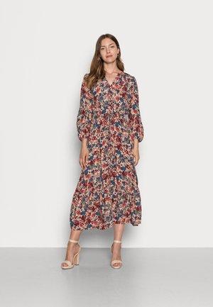 DRESS PRINTED MIDI - Maxi dress - pink big design