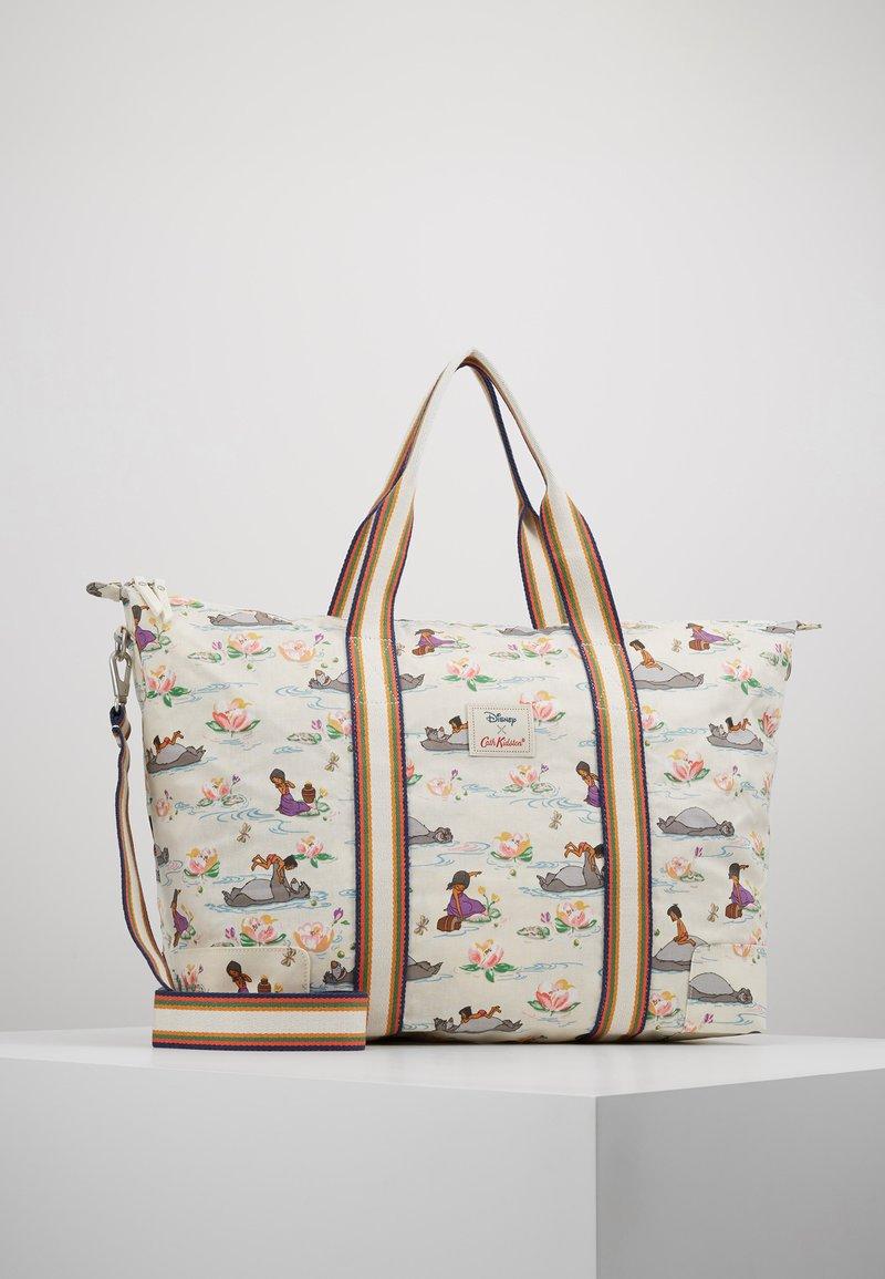 Cath Kidston - DISNEY FOLDAWAY OVERNIGHT BAG - Weekend bag - rich cream