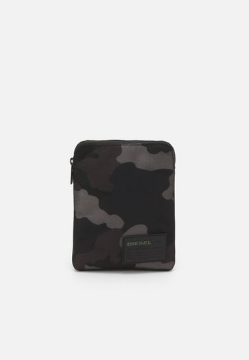 DISCOVER-ME F-DISCOVER CROSS CROSS BODYBAG - Across body bag - jet black/gray