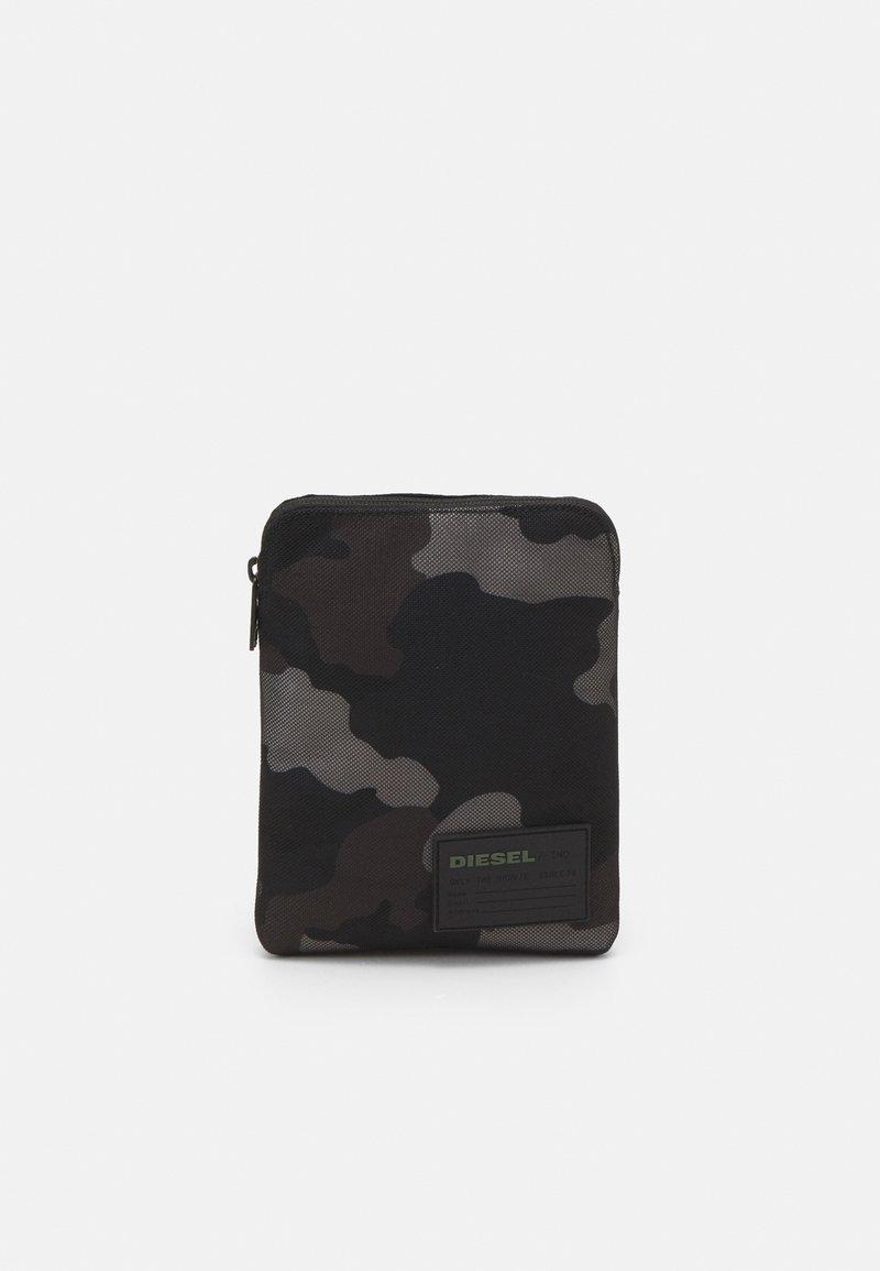 Diesel - DISCOVER-ME F-DISCOVER CROSS CROSS BODYBAG - Across body bag - jet black/gray