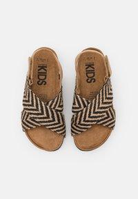 Cotton On - THEA CROSSOVER - Sandals - black/ecru - 3