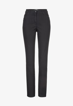 STYLE INA - Jeans slim fit - black
