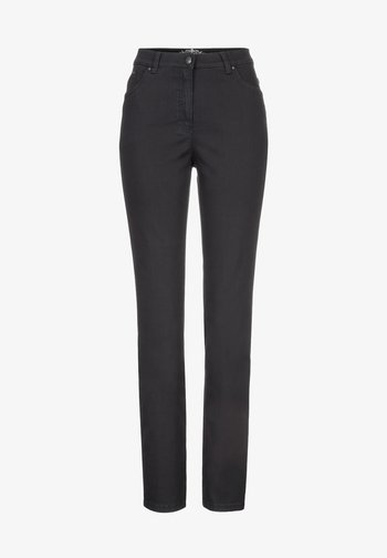 STYLE INA - Slim fit jeans - black