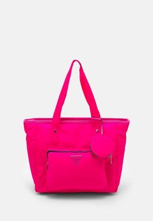 SET - Tote bag - pink bright