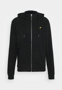 Pier One - Sweat à capuche zippé - black - 4