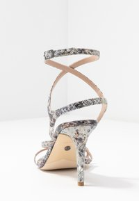 Dune London - MIGHTEYS - Sandály na vysokém podpatku - silver - 5
