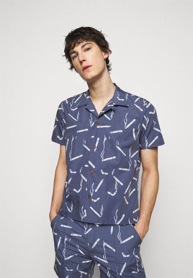 HAWAIIAN DANDY CIGARETTE - Overhemd - navy