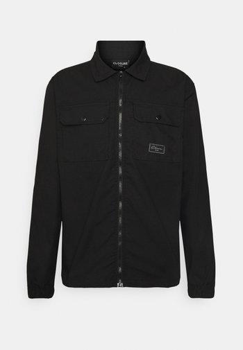 UTILITY - Summer jacket - black