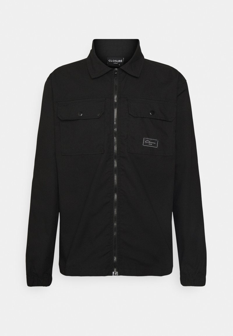 CLOSURE London - UTILITY - Summer jacket - black