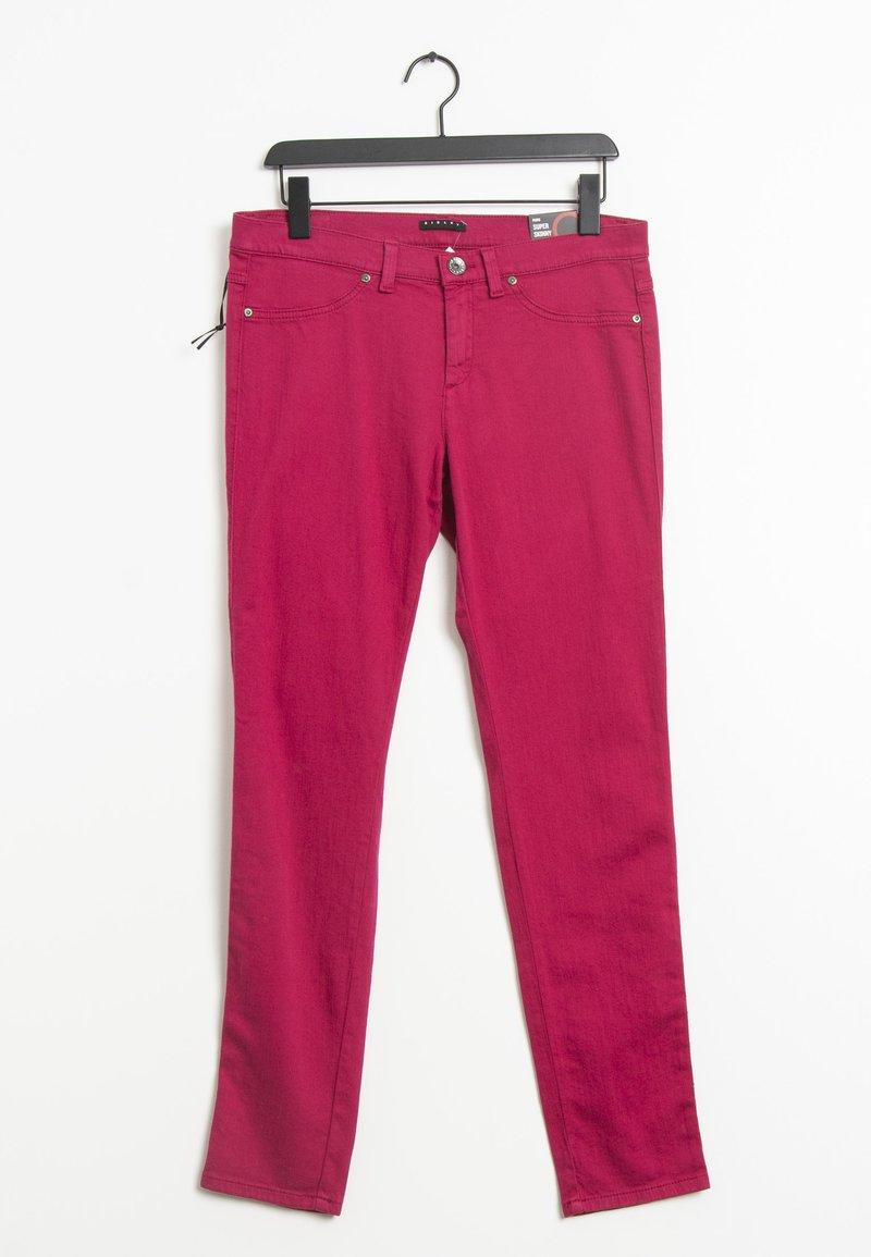 Sisley - Slim fit jeans - pink
