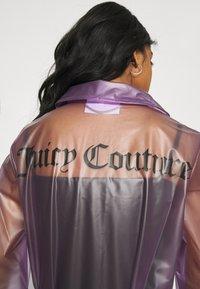 Juicy Couture - VIRGINIA SHEER COAT - Manteau classique - pastel lilac - 5