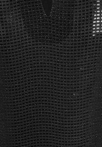Vero Moda - VMKYLIE HIGHNECK - Top sdlouhým rukávem - black/black - 4