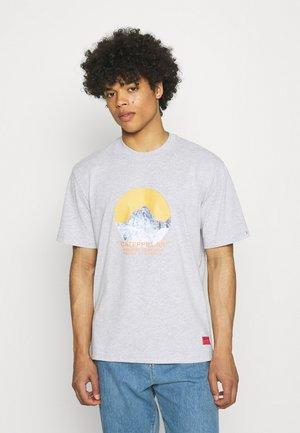 TEE - T-shirt z nadrukiem - heather grey