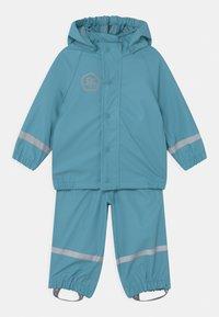 Color Kids - SET SOLID UNISEX - Vodotěsná bunda - delphinium blue - 0