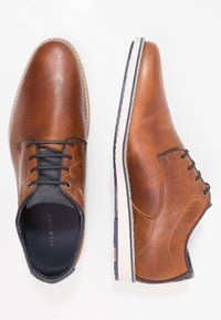 Pier One - Casual lace-ups - cognac - 1